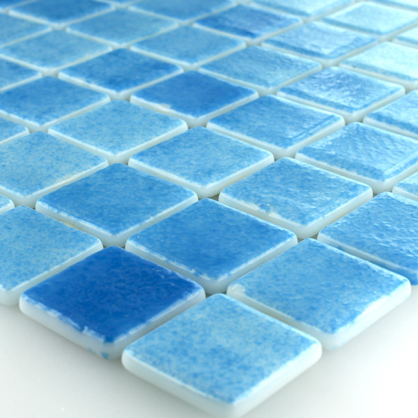 muster glasmosaik glas schwimmbad pool mosaik fliesen hellblau mix ebay. Black Bedroom Furniture Sets. Home Design Ideas