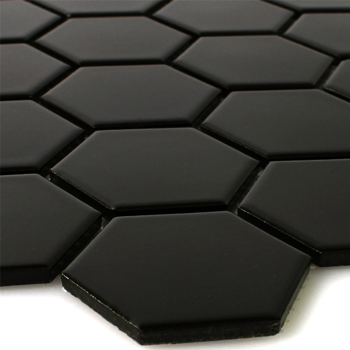 Ceramic hexagon tile