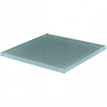 Glasfliese Grau Uni 100x100x5mm
