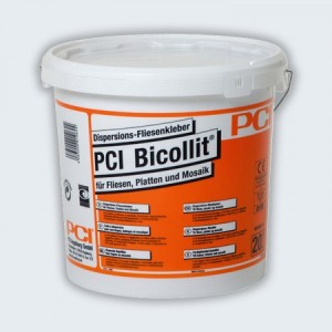 PCI Bicollit Classic Dispersion Fliesenkleber 16 kg hellgrau