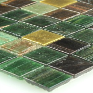 MUSTER Trend-Vi Recycling Mosaikfliesen Glas Fantastic